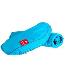Wobs Rollator/fiets handschoenen - Fluor Turquoise blauw