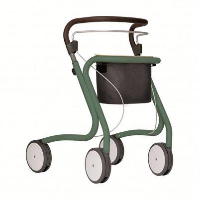 By ACRE Rollator/serveerwagen voor binnenhuis - Groen