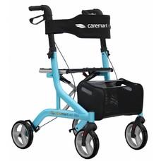 Caremart EZ-Lite rollator - Blauw