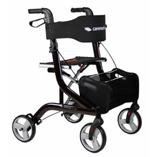Caremart EZ-Lite rollator - Bruin