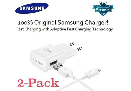 Samsung Adaptive Fast Charging + Kabel  2 - Pack
