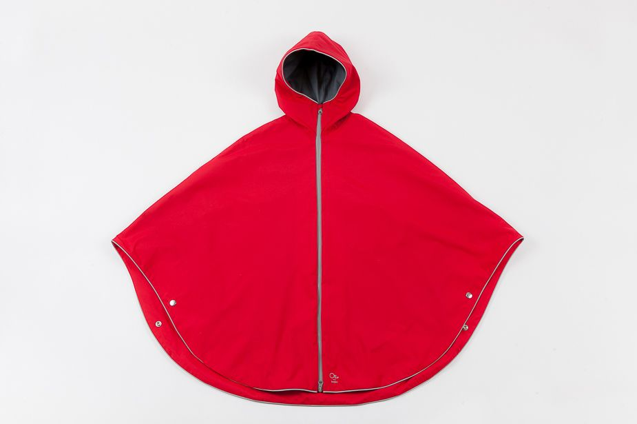 Otto London Otto London - Urban Poncho, Bright Red