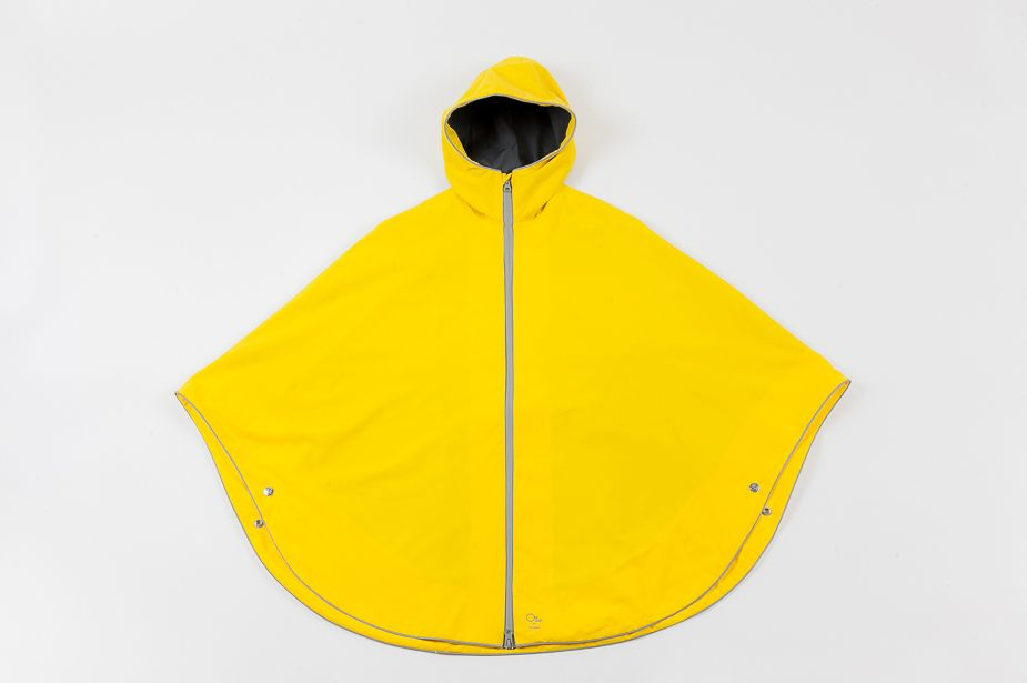 Otto London - Urban Poncho, Bright Yellow