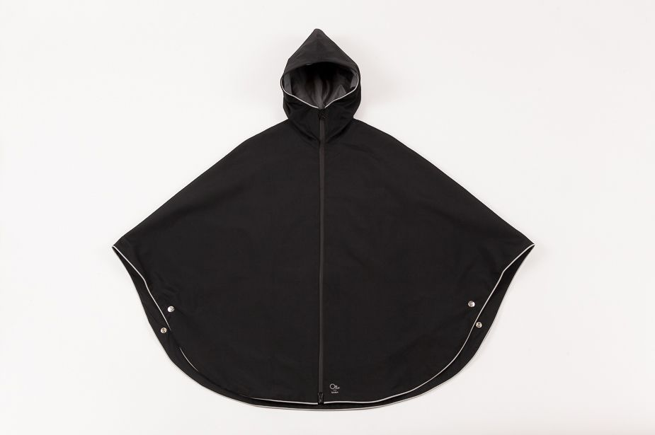 Otto London - Urban Poncho, Black