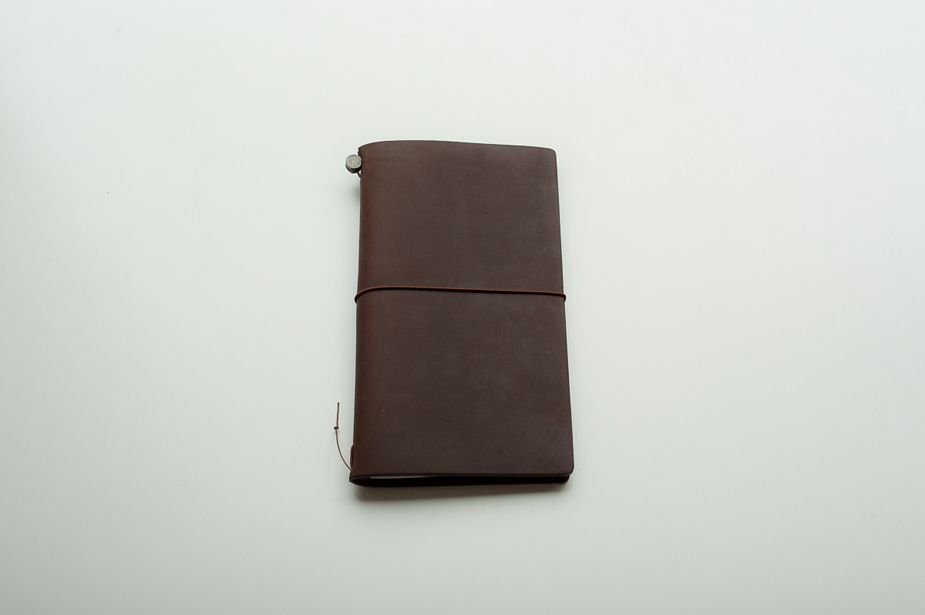 Midori - Traveler's Notebook, Leather, Brown