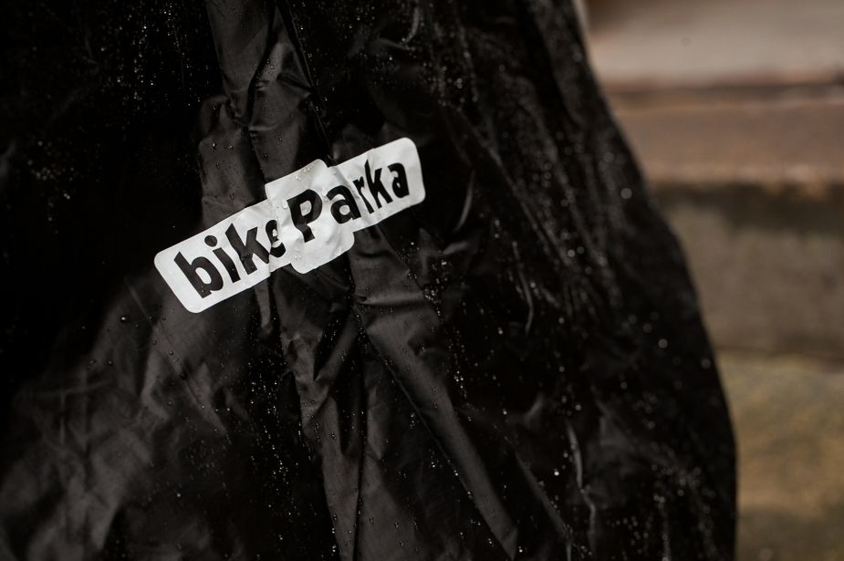 Bike Parka - Stash, Blue