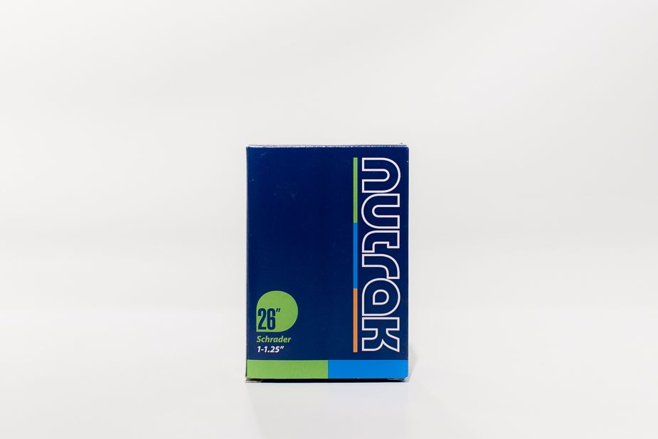 Nutrak - Inner Tube, 26 x 1 - 1.25 inch Schrader (Bisou, Ace)