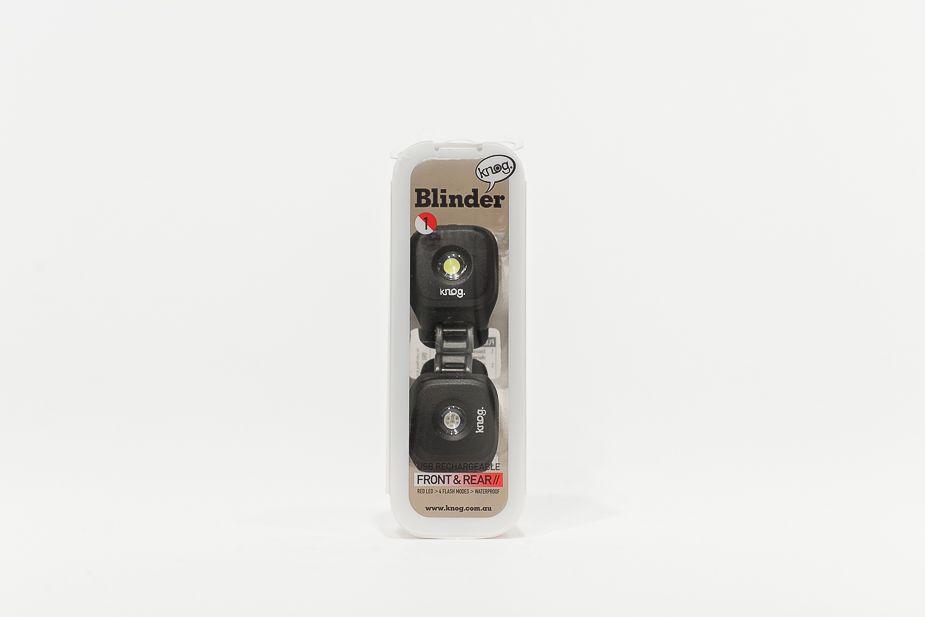 Knog Blinder - USB rechargeable lights, Twinpack
