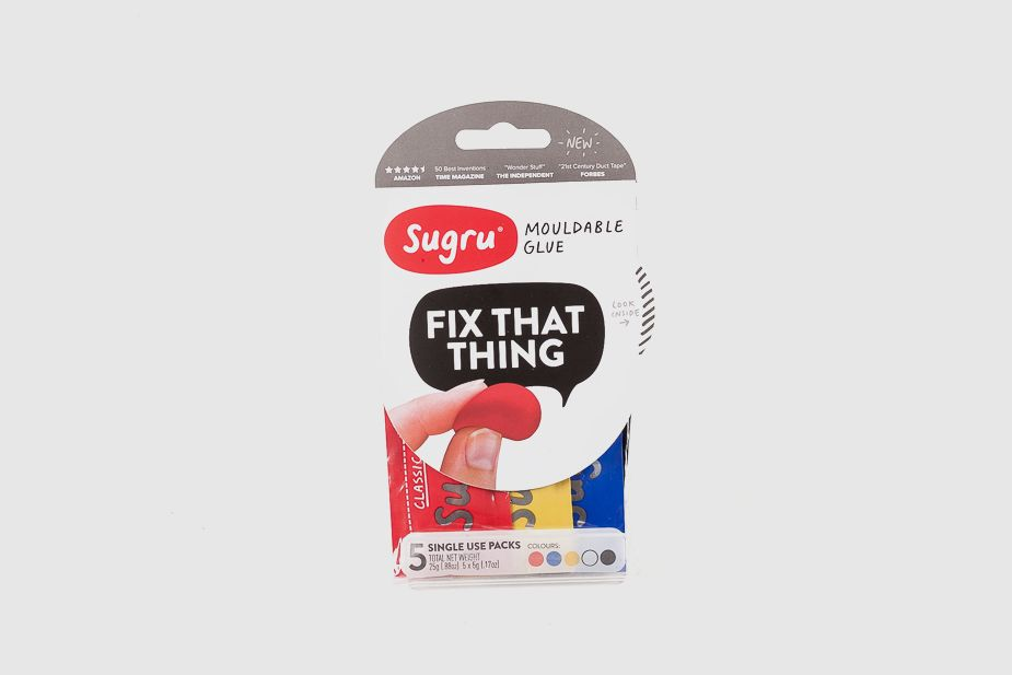 Sugru-Mini Pack x 5 mouldable glue