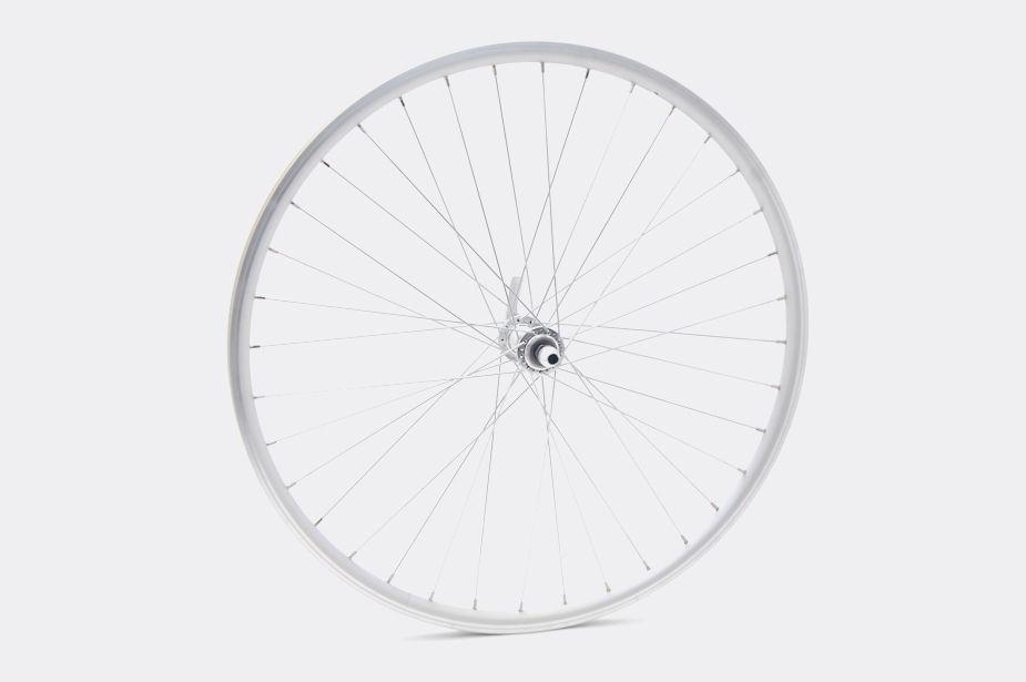 TOKYOBIKE tokyobike - Wheel, 650c, Silver/Silver (CS650, Front)