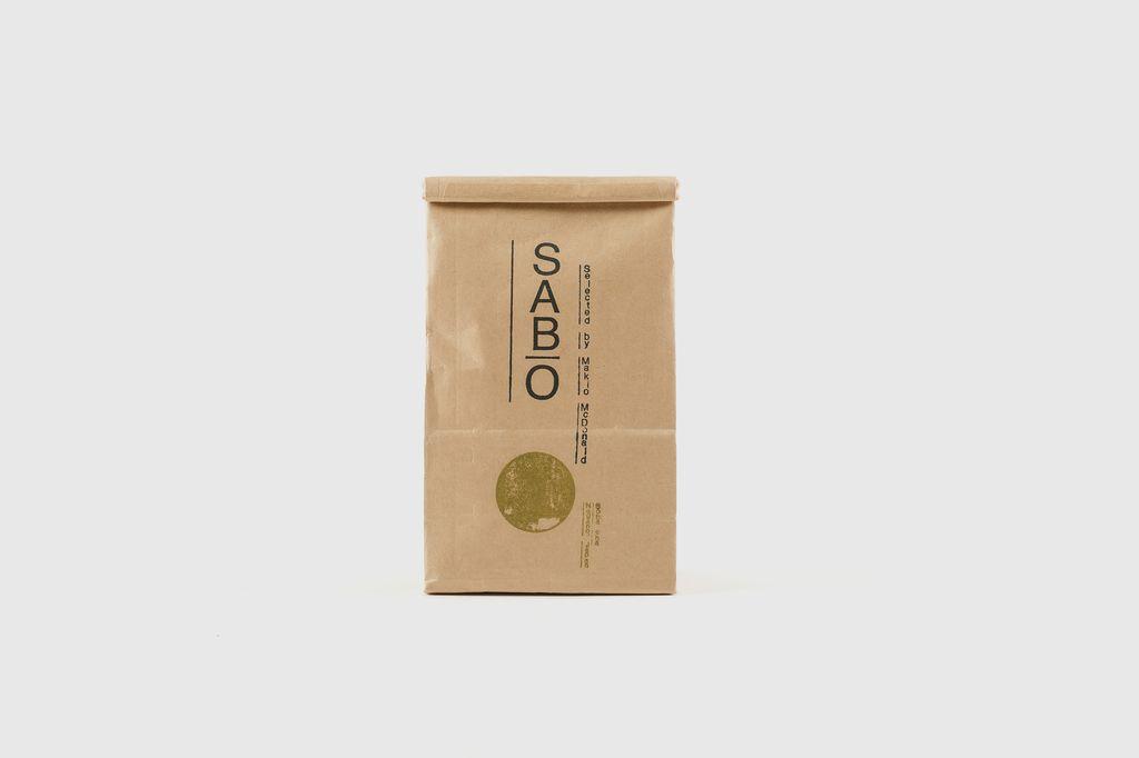 SABO - Japanese Organic Tea, Soba Cha, 100g