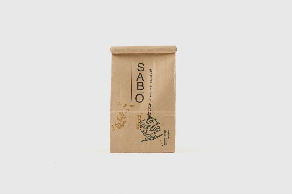 SABO - Japanese Organic Tea, BanCha Aki&Genmai, 50g