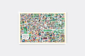 Walk With Me - Illustrated Map of Shoreditch