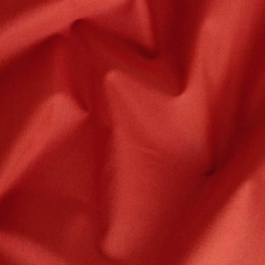 Hoeslaken Percal Katoen - Terracotta