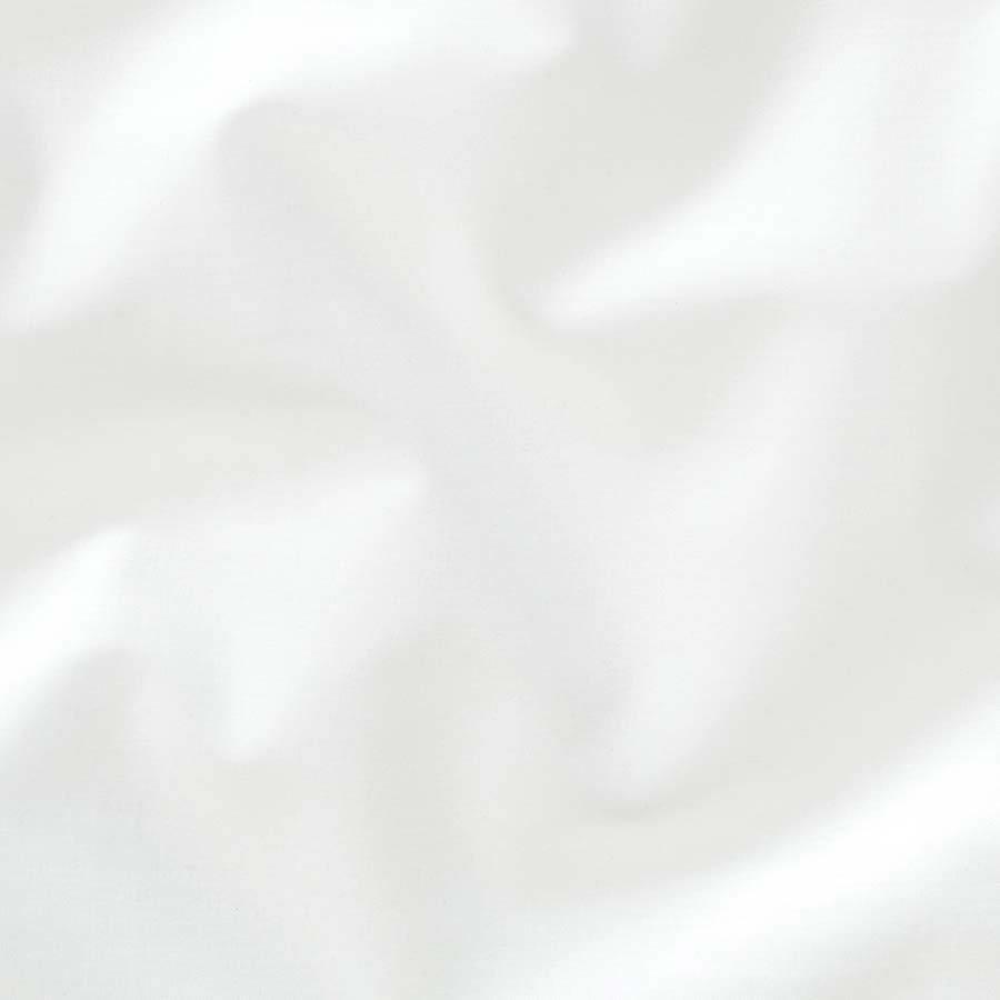 Hoeslaken Percal Katoen - Wit