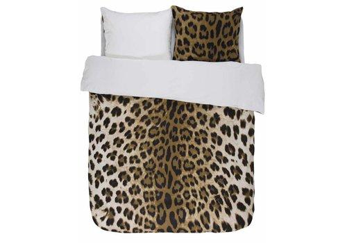 Essenza Home Dekbedovertrek Leopard Bruin