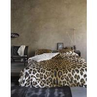Dekbedovertrek Leopard Bruin