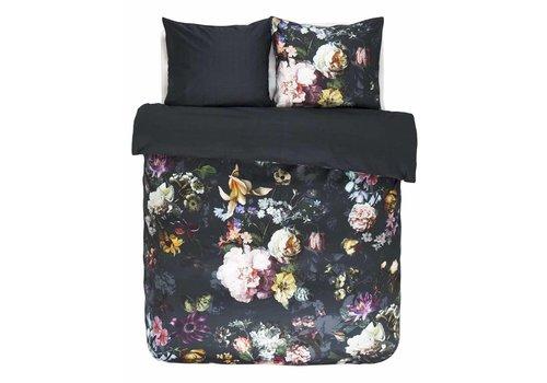 Essenza Home Dekbedovertrek Fleur - Nachtblauw