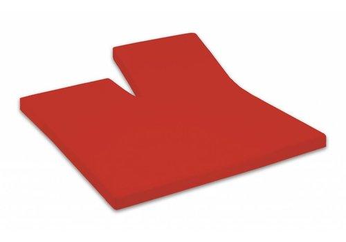Dommelin Split-Topper Hoeslaken Percal Katoen - Rosso (580)