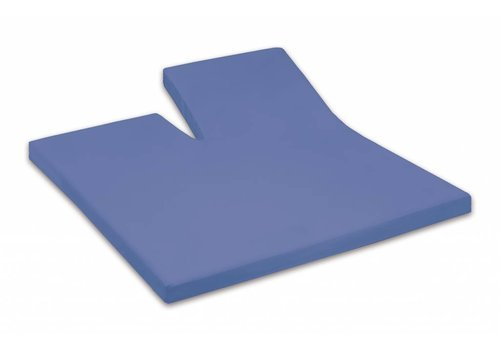 Dommelin Split Topper Hoeslaken Percal Jeans Blauw 576