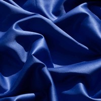 Split Topper Hoeslaken Percal Jeans Blauw 576