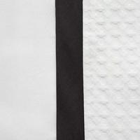 Dekbedovertrek Bari -  Wit/Zwart