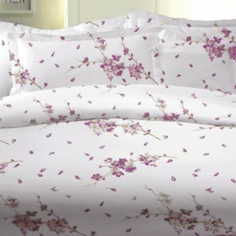 Dekbedovertrek Flora - Roze