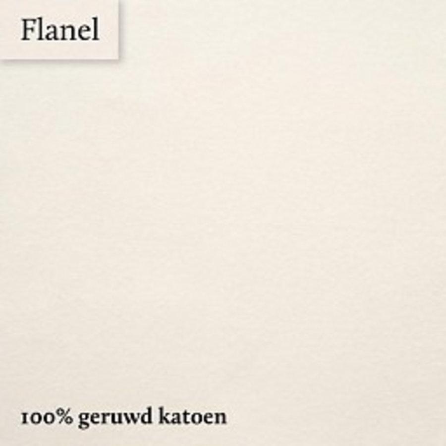 Hoeslaken Flanel - Ecru - Extra Hoge Hoek