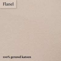 Hoeslaken Flanel - Kaki