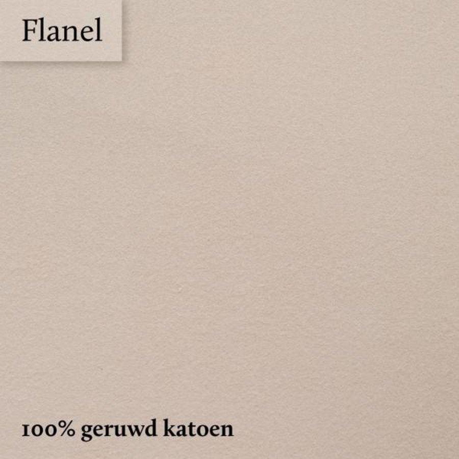 Hoeslaken Flanel - Kaki - Extra Hoge Hoek