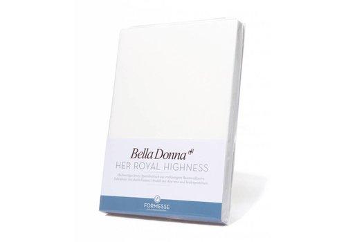 Formesse Bella Donna Jersey Hoeslaken - Wit (1000)