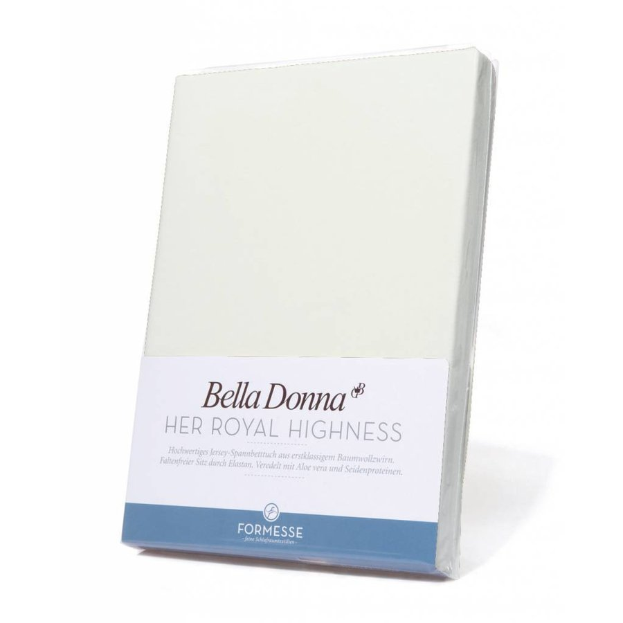 Bella Donna Jersey Hoeslaken - Wolwit (0114)