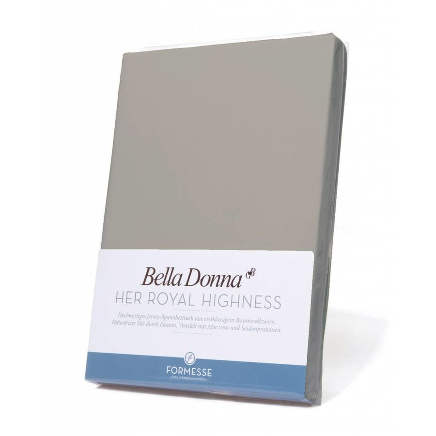 Bella Donna Jersey Hoeslaken - Grijs (0701)