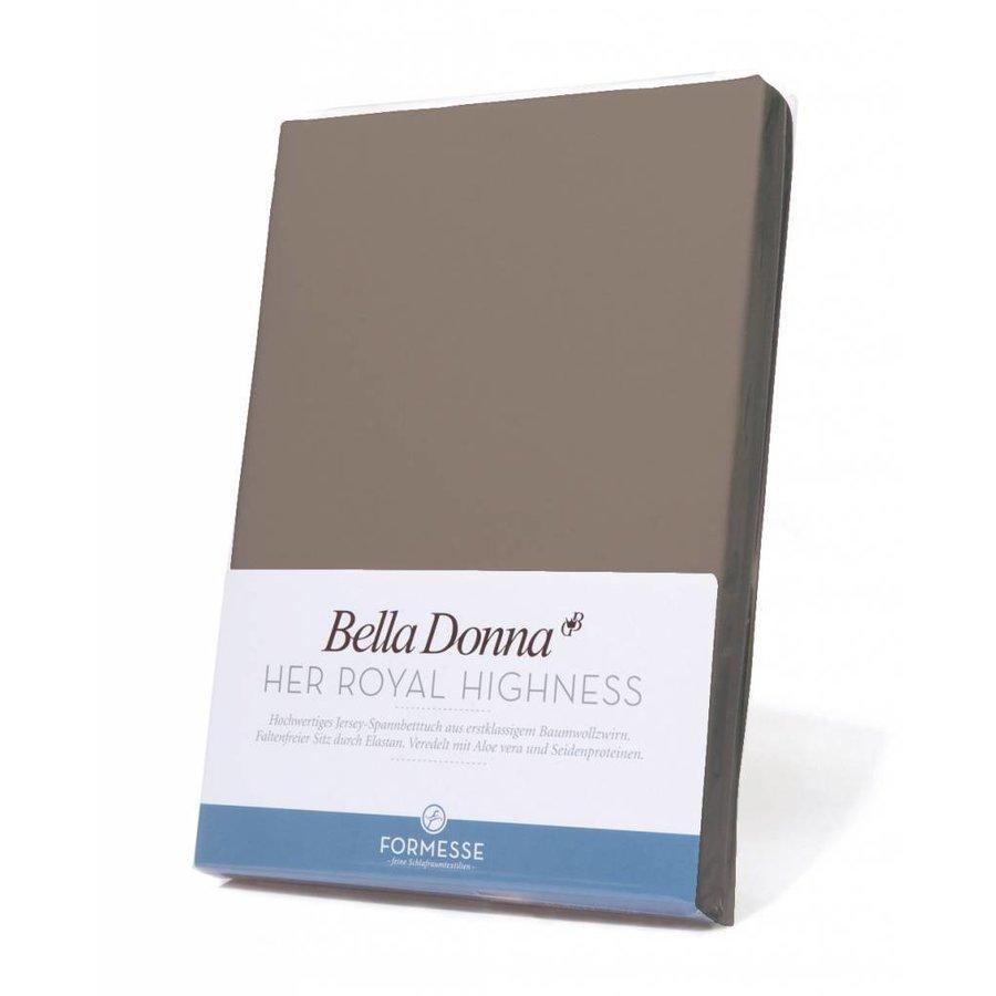 Bella Donna Jersey Hoeslaken - Platinum (0125)