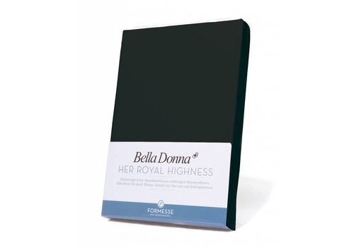 Formesse Bella Donna Jersey Hoeslaken - Zwart (0101)