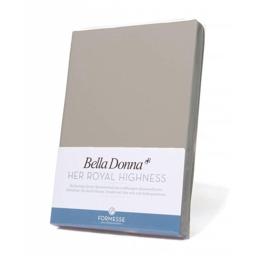 Bella Donna Jersey Hoeslaken - Parelgrijs (0710)
