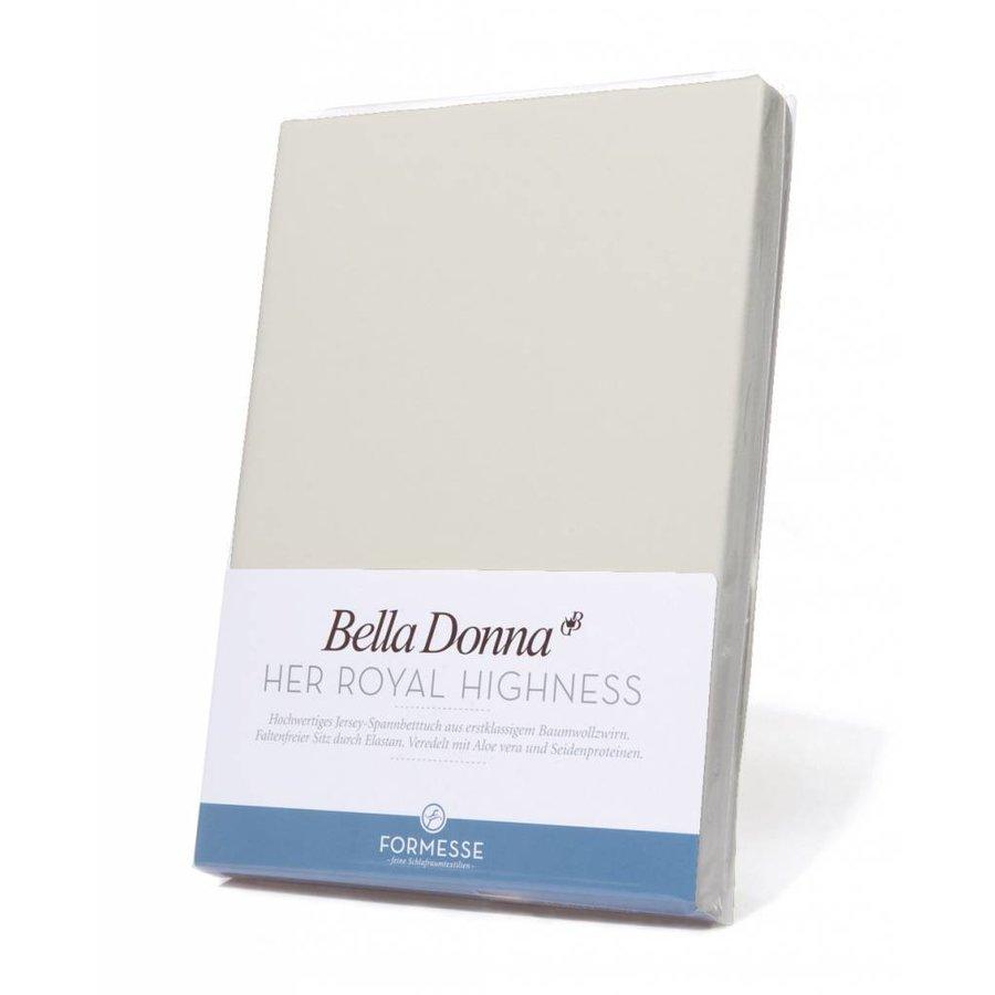 Bella Donna Jersey Hoeslaken - Linnen (0119)