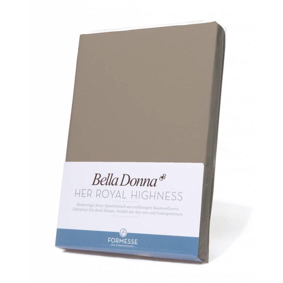 Bella Donna Jersey Hoeslaken - Nootmuskaat (0122)