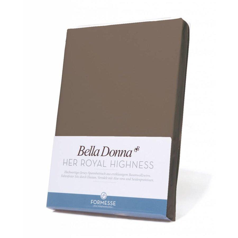 Bella Donna Jersey Hoeslaken - Truffel (0126)