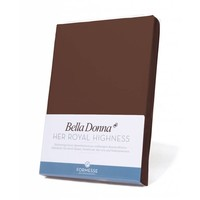 Bella Donna Jersey Hoeslaken - Koffie (0123)