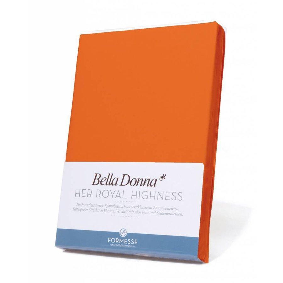 Bella Donna Jersey Hoeslaken - Mango (0704)