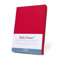 Bella Donna Jersey Hoeslaken - Rood (0185)
