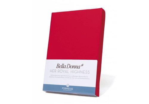 Formesse Bella Donna Jersey Hoeslaken - Rood (0185)