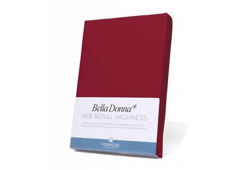Formesse Bella Donna Jersey Hoeslaken - Karmijnrood (0188)