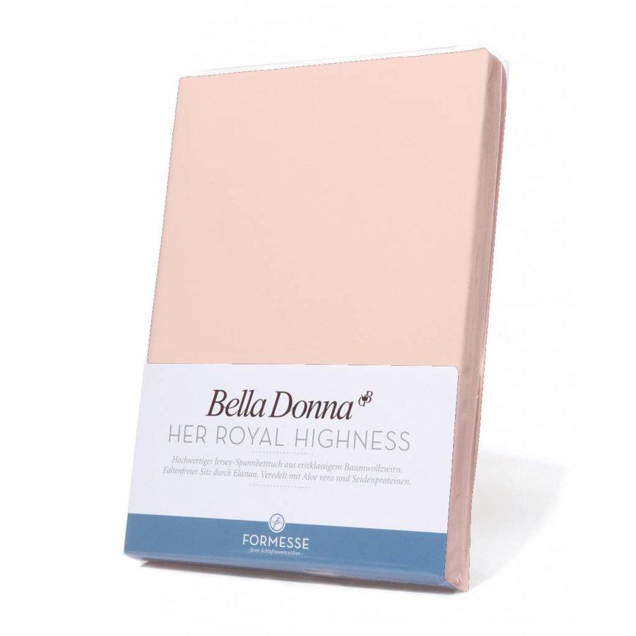 Bella Donna Jersey Hoeslaken - Roze (0566)