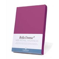 Bella Donna Jersey Hoeslaken - Fuchsia (0540)