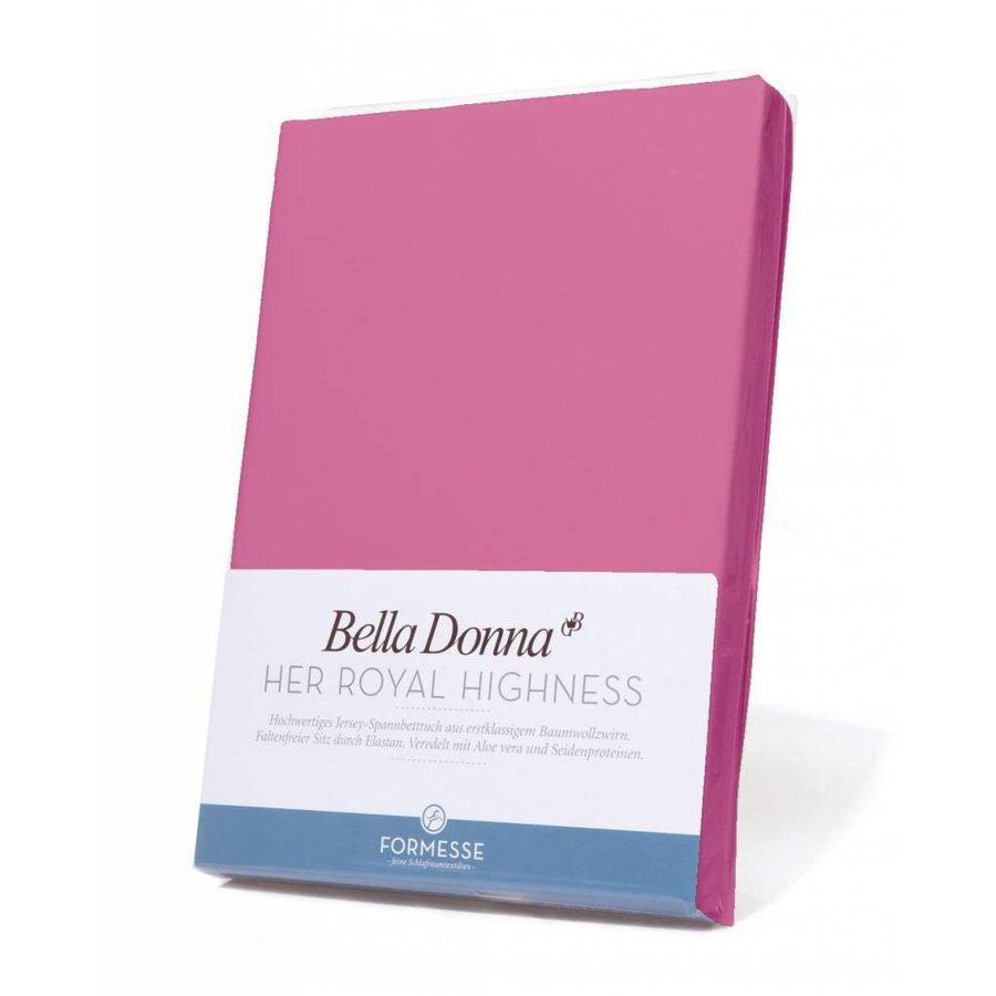 Bella Donna Jersey Hoeslaken - Flamingo (0539)
