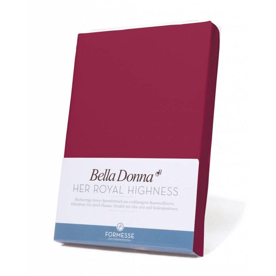 Bella Donna Jersey Hoeslaken - Bordeaux (0030)