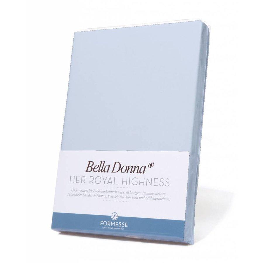 Bella Donna Jersey Hoeslaken - Lucht Blauw (0523)