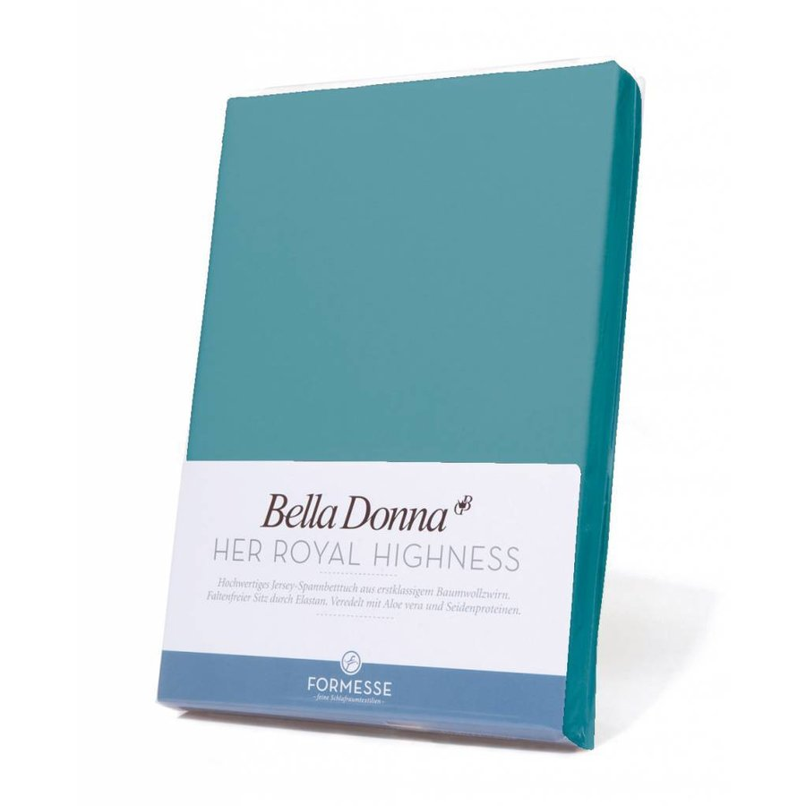 Bella Donna Jersey Hoeslaken - Arctic Blue (0302)